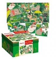 Puzzle Bébé les animaux de la Jungle Ludattica 2 +