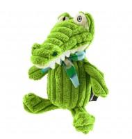 Doudou Simply Déglingos Aligatos le crocodile
