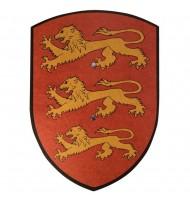 Bouclier en bois Richard Coeur de Lion