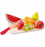 Jouet en bois Fruits à découper Jeu de dînette