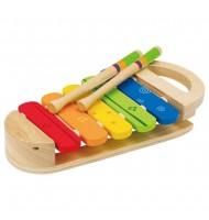 Xylophone arc en ciel Hape Jouet musical en bois 12 mois +