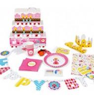 Kit vaisselle et décoration complet pour fête d'anniversaire Princesse
