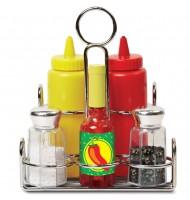 Dînette accessoire cuisine enfant Jouet ensemble de condiments
