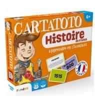 Jeu de cartes éducatives CARTATOTO Apprendre l'Histoire de France