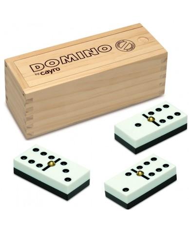 Dominos Chamelo boîte en bois