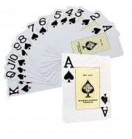 Jeu de cartes Poker 55 cartes étui plastique 305 grammes