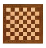 Plateau de jeu d'échec en bois 33 cm