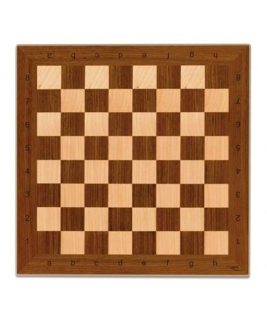 Plateau de jeu d'échec en bois 40 cm