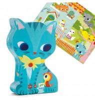 Puzzle Djeco le Chat Pacha 24 pcs Enfants 3 ans +