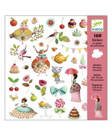 Stickers autocollants Princesse Djeco Enfants 4 à 8 ans