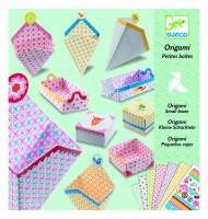 Pliage papier Djeco Origami Petites boîtes