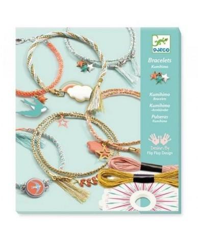 Faire des bracelets à breloques DJECO Kit de fabrication