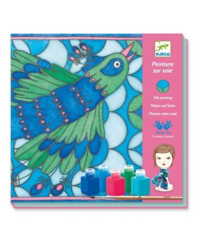 Peinture sur soie DJECO Kit de fabrication