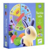 Loto tactile Animaux de la ferme Djeco Enfants 3 ans