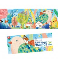 Puzzle Djeco Gallery Miss Birdy 350 pcs 8 ans +