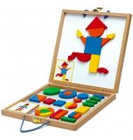 Mallette magnétiques en bois Djeco Enfants 4 ans +