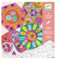 Mandalas constellations coloriage surprise Djeco Enfant 6 - 9 ans