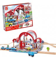 Circuit de train grande gare internationale Hape