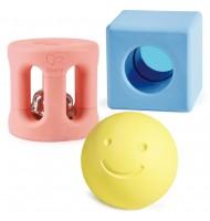 Hochets géométriques et sonores pour bébé