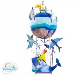 Mobile pour chambre bébé Baleine Les gros Z'énorme l'Oiseau bateau
