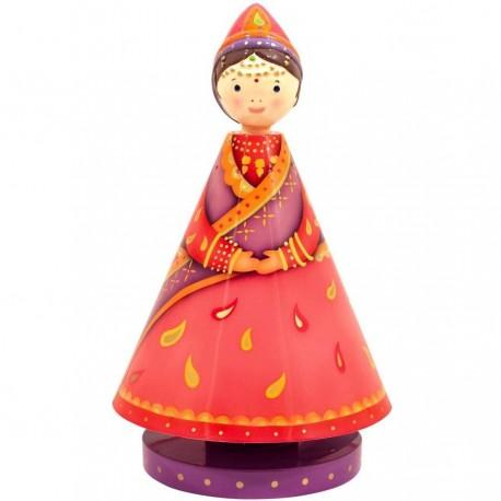 Boite à musique Princesse hindoue l'Oiseau bateau